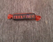 Trick or Treat Halloween Candy Pin
