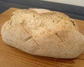 Millet & Buckwheat Artisan Bread (gluten free, no dairy, no gum)