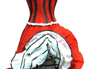 Cancan Dress - made of paper