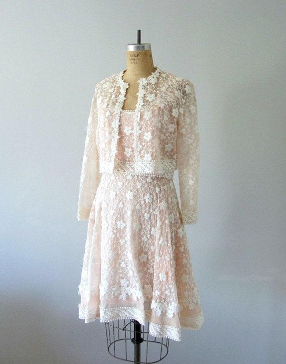 1960s blush pink dress . 60s sheer organza dress . vintage dress