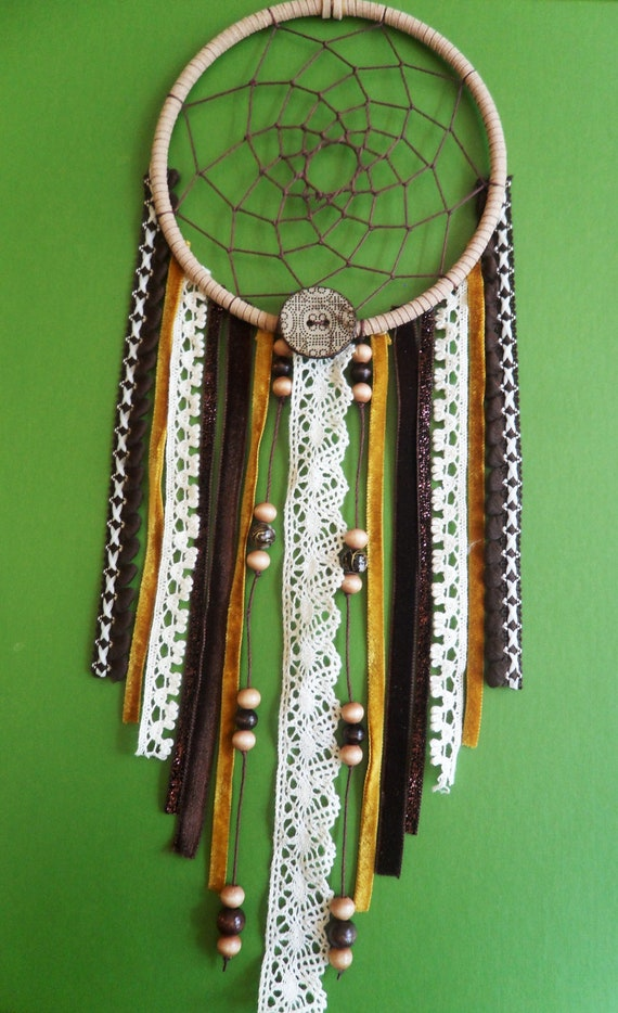Dream Catcher - Tribal - Upcycled, Modern