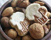Mini Beer / Ale / Cider Decorated Sugar Cookies - Gifts for Guys - Fathers Day