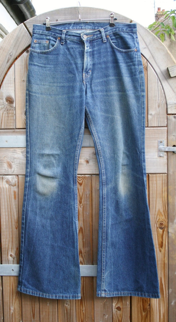 Mens Jeans Flare
