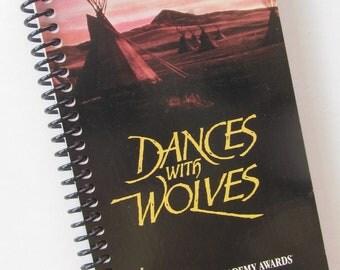 DANCES WITH WOLVES Vhs Journal Kevin Costner