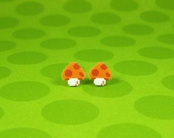 Super Mushroom Earrings