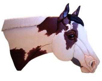 Custom Horse Portrait,  Wood Pet Portrait,  Paint And Quarter Horse Art