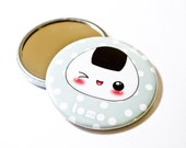 Kawaii Cute Onigiri - Pocket Mirror