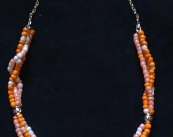 Pretty Pumpkin Necklace
