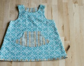 Baby Girl's Reversible Dress/Jumper--Size 3M--READY TO SHIP--Reduced Price!!