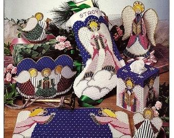 Angels  Plastic Canvas Pattern Book American school of Needlework 3159