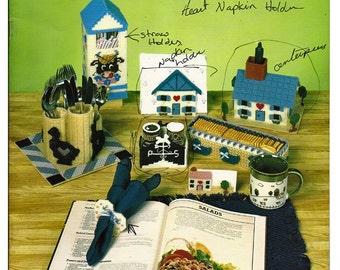 Kount on Kappie Kitchen Decor  Book 127 : Plastic Canvas Pattern Book