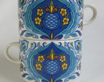 1974 Villeroy & Boch Tea Cups