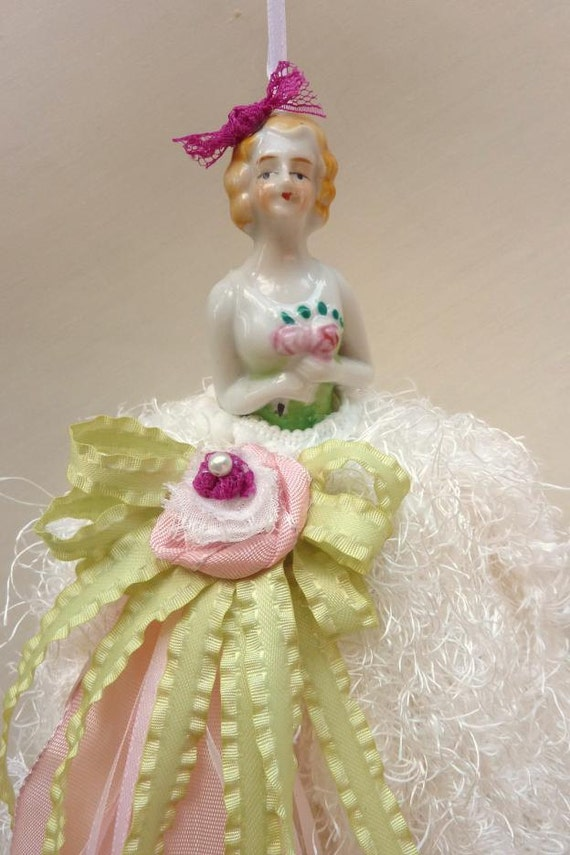 Decorative Tassel,  Half Doll,  Shabby Chic Home Decor