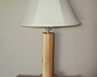 Log Lamp - Cedar Furniture Rustic Cabin Lodge Decor Gift