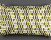 Cushion pillow october sales with leaves green  yellow or red golden organic coton
