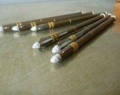 SALE One Vintage French Brass Blackboard Crayon or Mechanical Pencil (1)