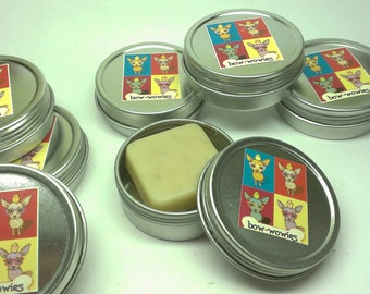 Dog Paws Lotion Bar Bow Wowies Soft Paws For Dogs Dry Paws and Chapped Noses Rough Itchy Skin All Natural