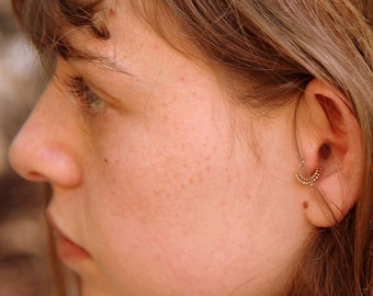 Tragus ring - tragus earring - tragus jewelry - tragus piercing ring - tragus - Nose jewelry - tragus hoop - Indian princess - cartilage