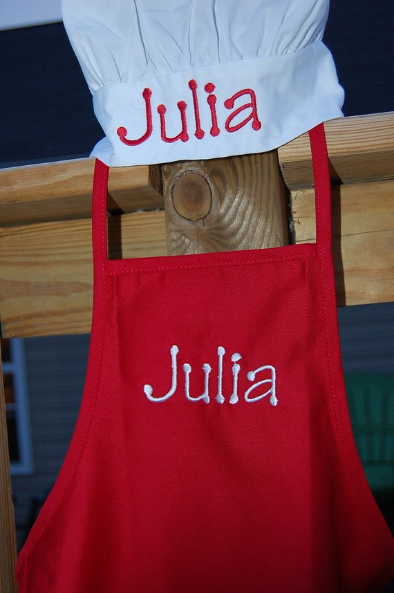Personalized Toddler Chef Hat & Apron