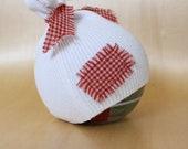 RTS: Upcycled Newborn Hat