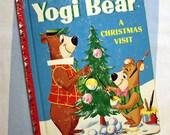 Yogi Bear, A Christmas Visit, 1969 Little Golden Book