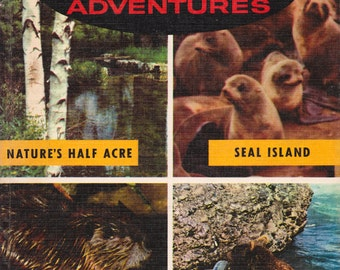 Walt Disney's True-Life Adventures - a vintage book