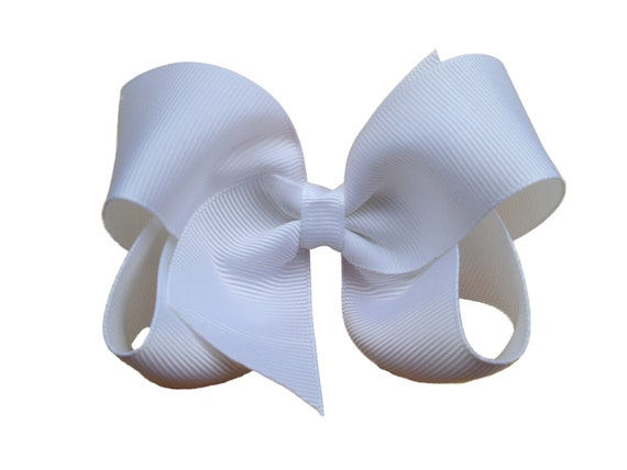 You pick color - 4 inch hair bow, 4 inch boutique bow, hair bows, bows, girls hair bows, girls bows, 4 inch bows, boutique bows