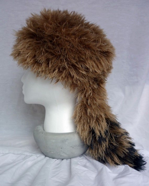 Coonskin Hat: Faux Fur Coonskin Cap Daniel Boone Style Hat For By