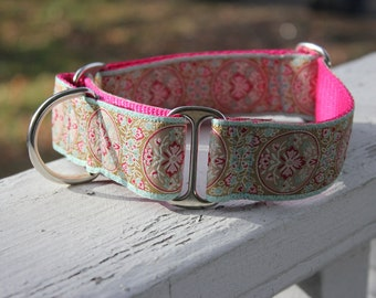 "The Garden of Isis 1.5"" Martingale Collar"