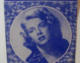 1951 Sheet music - Rosemary Clooney - Come on-a My House