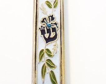 Olive Branches Mezuzah case (288)