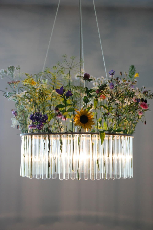 Maria s c single test tubes chandelier for Interior design lighting quiz