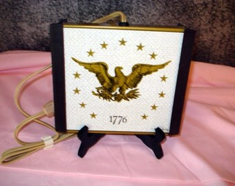 Vintage Food Warming Tray Bicentennial 1776
