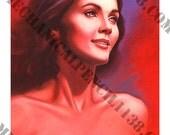 Painting Print 09-  Wonder Woman