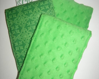 Burp Cloths - Luck o' the Irish (Set of 4)