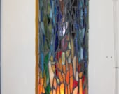 Glass Mosaic Candleholder or Vase