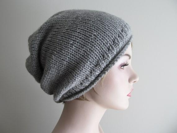 Digital Pdf Knitting Pattern Instant Download Grey Hipster