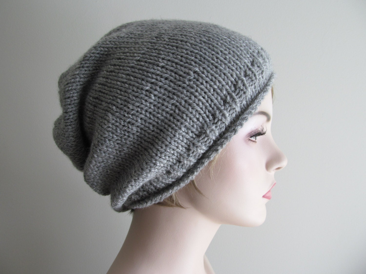 Digital pdf knitting pattern instant download grey hipster slouchy this is a digital file bankloansurffo Images