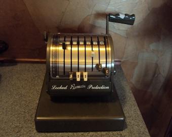 Vintage check writer