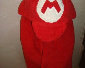 Childrens Hooded Bath Towel