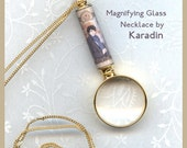 Sherlock Magnifying Glass Necklace