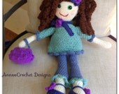 Curly Beauty Doll Pattern