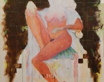 Nude Original Modern Painting