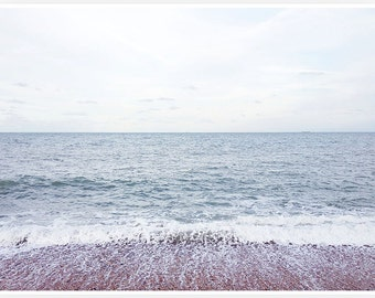 English Seaside Print
