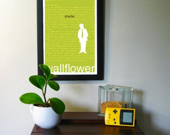 """Perks of Being a Wallflower Print: Charlie 11"""" x 17"""""""
