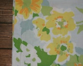 Queen Flat Sheet // Pretty Flower Print // Great Condition