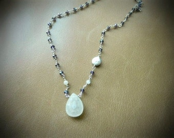 Aura Enhancer Solar Quartz Necklace