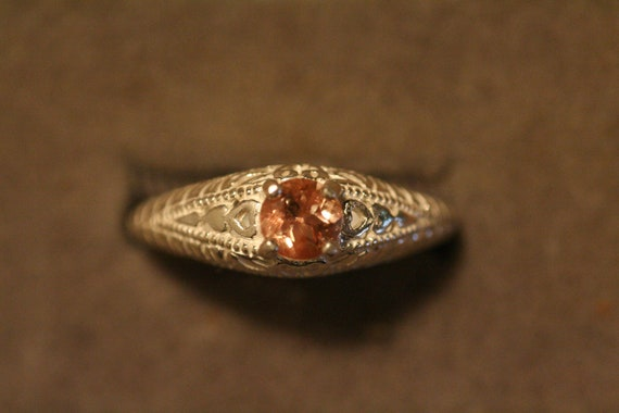 Oregon Sunstone Ring Etsy