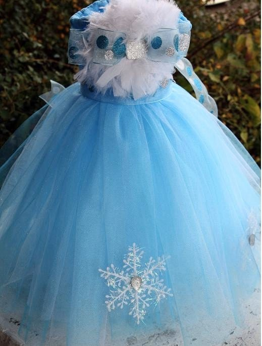 winter wonderland snowflake tutu winter dress christmas