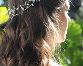 Tiara with freshwater pearls, Bridal headband, bridal halo, Vine,Hairband, Pearl bridal hair accessories, wedding accessory hair